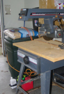 "Sears Craftsman   VINTAGE 10"" Radial Arm Saw  for restore or parts"