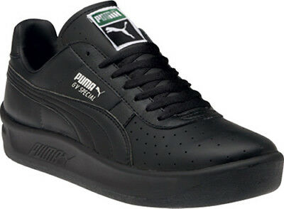 Puma GV Special Men's Black Leather. Prison Approved. Lightweight Casual Sneaker