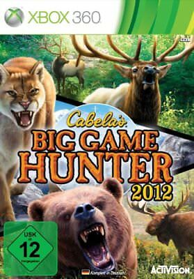Xbox 360 Game Cabela's Big Game Hunter 2012 Hunting Game New