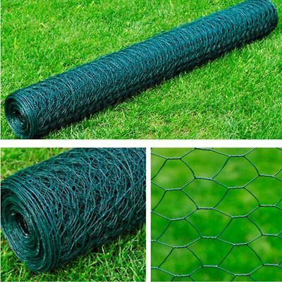 25m Garden Plant Fence Chicken Aviary Rabbit Cage Safety Wired Wire Net Mesh