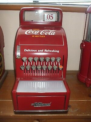 1940's Coca-cola theme candy store national cash register with keys diner arcade