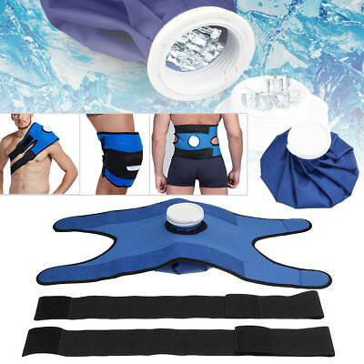Ice Bag Pack & Wrap Pain Relief Hot Cold Therapy Reusable For Knee Shoulder Back