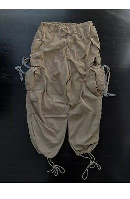 MEDIUM KHAKI UFO PANT! Raver, Hiphop, Dance, skater, goth