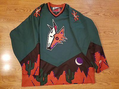 pretty nice 1a7d9 c1fc2 ARIZONA COYOTES JERSEY XL mens extra Large Alternate third PRO PLAYER  Phoenix