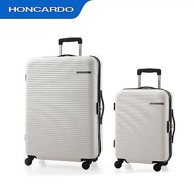 2pc Luggage Set Travel Bag Trolley Suitcase Expandable Carry On Hard Case