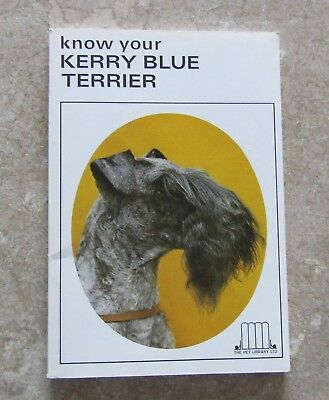 Vintage Know Your Kerry Blue Terrier by Earl Schneider