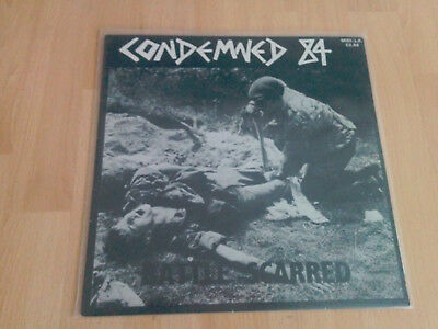 Vinyl LP Condemned 84 - Battle Scarred OIR