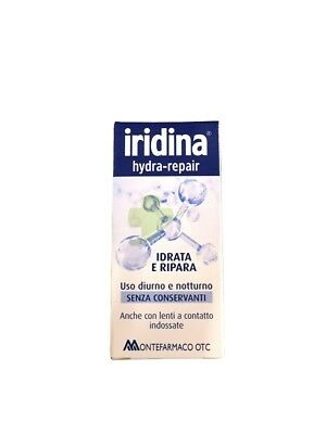 Iridina Hydra Repair Gocce Oculari 10 ml Lacrime Artificiali Acido Ialuronico
