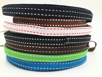 10/50/100Yards Of 10mm Soft Polyester Air Webbing In 7 Colours,Straps,Leads