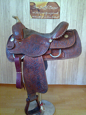 LONGHORN by Billy Cook Westernsattel Reining Sattel -TOP ZUSTAND