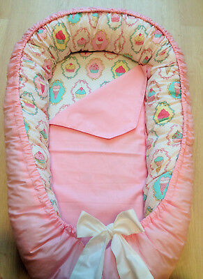 Baby Bed Pink Crib Bedding Nursery Baby Shower Cotton Cot Baby Gift Newborn Home