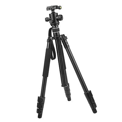 Lightweight Tripod & Monopod with 360 Panorama Ball Head for Camera (Large)