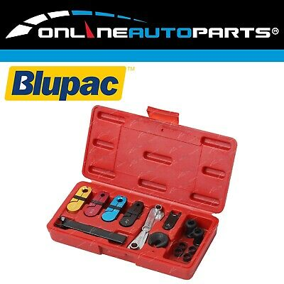 12 pce A/C Fuel Transmission Oil Line Disconnect Tool Set Kit with Plastic Case