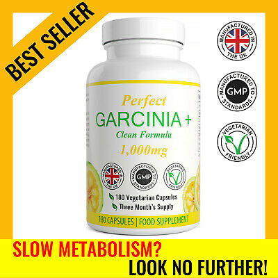Garcinia Cambogia X 180 Capsules Garcinia Vita Strong Fat Burner Weight Loss