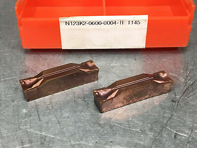 Sandvik N123K2-0600-0004-TF 1145 Carbide Insert (2 pcs)