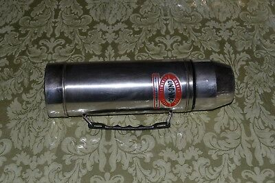 Vintage UNO-VAC Stainless Steel Thermos