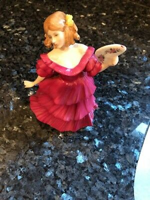 Royal Doulton Figure of the Year 1994 Jennifer HN 3447 Hand Made and Decorated