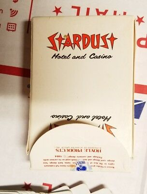 Casino Playing Cards - Stardust Las Vegas Used Uncut Vintage Deck - Free S/h