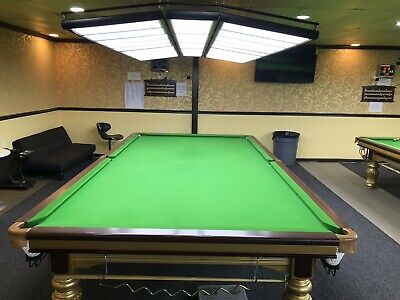 ANTIQUE BRUNSWICK BILLIARDS By Snooker Table The Westminister - 6 ft brunswick pool table