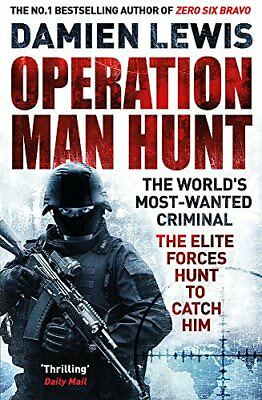 Operation Man Hunt: The Hunt for the Richest, by Damien Lewis New Paperback Book