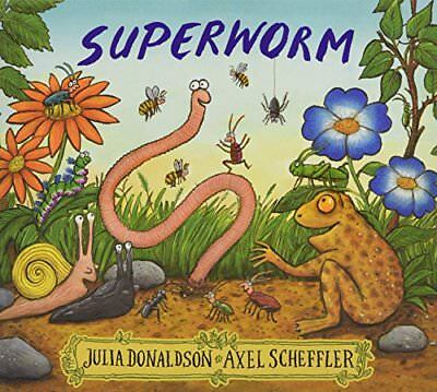 Superworm by Julia Donaldson New Paperback Book