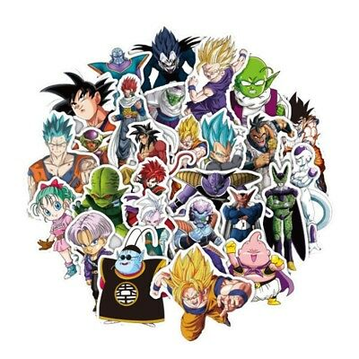 36 Pcs/Lot Anime Dragon Ball Stickers