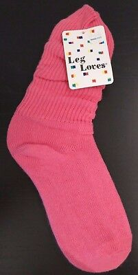 Vintage 1980s Leg Loves Slouch-Type Socks NWT