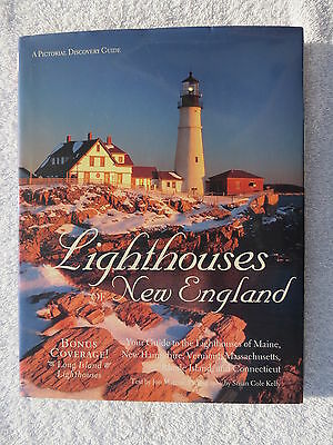 Lighthouses Of New England  Book Maritime Nautical Marine (#182)