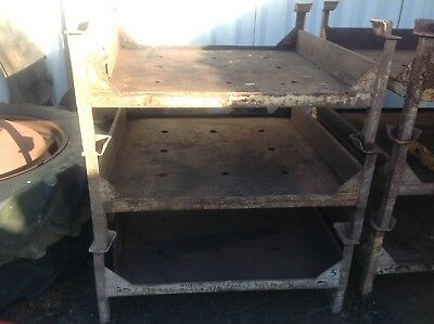 Metal and wooden stillage,pallets,heavy duty storage,stackable