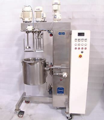 Fryma triple motion vertical vacuum mixer vme-20 (1994) with issues