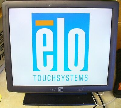 """ELO 17"""" B-Series Touch Screen POS System Windows 7 Core 2 Duo Point of Sale"""