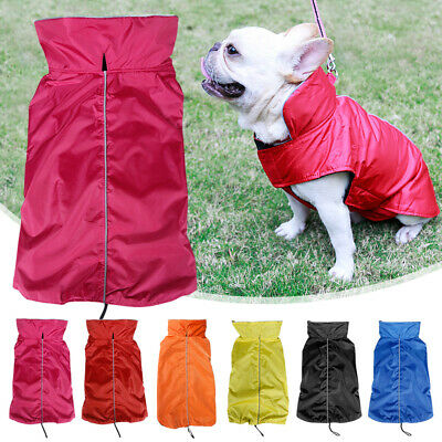 Dog Vest Jacket Outdoor Rain Coat Waterproof Soft Cozy for Medium and Large dogs