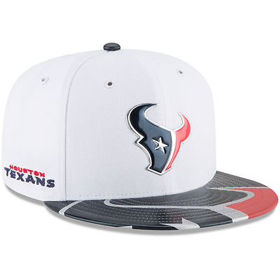Houston Texans NFL Football New Era Draft Cap Kappe Fitted 59fifty Size 7 1/8