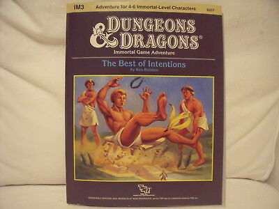 Dungeons & Dragons Best of Intentions Adventure Role Playing Game Rollenspiel