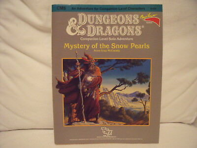 Dungeons & Dragons Mystery ofSnow Pearls Adventure Role Playing Game Rollenspiel