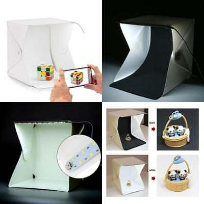 Tabletop Photography Shooting Lighting Soft Box LED Light Tent Mini Photo Studio