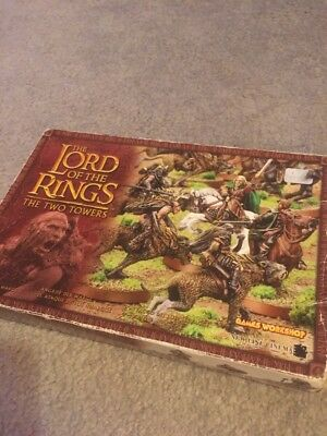 Lord of the Rings Warg Attack Warhammer Games Workshop METAL
