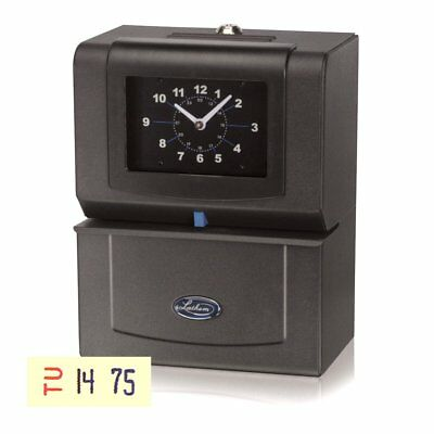 Lathem 4026 Automatic Time Clock for Day of Week, Hours (0 - 23) & Hundredths