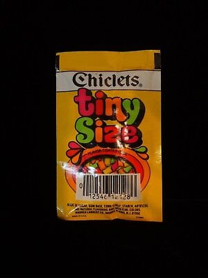 """Vintage Chiclets, 1 Pack of """"Chiclets tiny Size,"""" EC"""