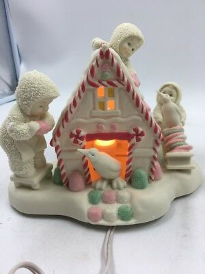 Department 56 Snowbabies ''a Gingerbread Christmas'' (S08025285)