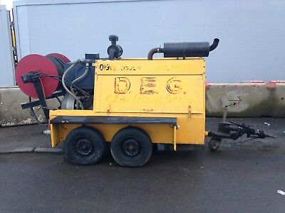Harben Century Drain Jetter Jetting Cleaning 6000 Psi Perkins Turbo Diesel