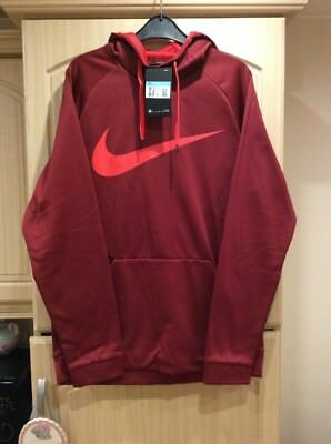 Nike Dri-Fit Therma Hooded Top Mens Size Medium Bnwt Auction.