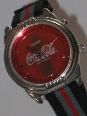 Coke Cola Light Up Watch Unisex Design Iconic Logo New Band Really Cool Watch