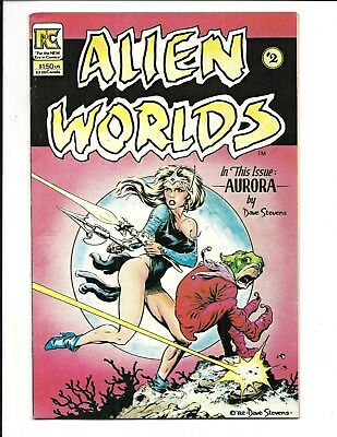 ALIEN WORLDS # 2 (Pacific Comics, DAVE STEVENS, MAY 1983), VF