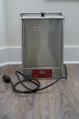 Chattanooga Group E-1 Hydrocollator Hot Pack Heater Heating Unit Steam Rack