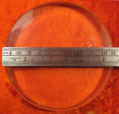 FLAT SURFACE OPTICAL PLATE 110x18mm/4.3x0.71inch 1/12 Test Wave USSR RUSSIAN