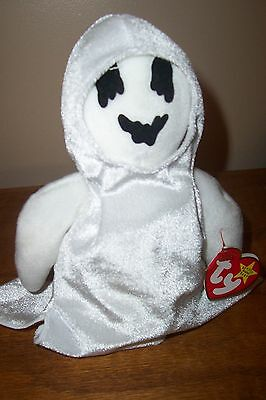 Ty Beanie Babies - 1999 SHEETS the Halloween Ghost / Ghoul (G64)