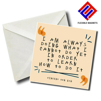 I'm Always Doing... Inspirational Quote Magnet for refrigerator. Great Gift!