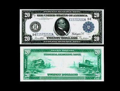 Fr. 983A  $20 1914 Federal Reserve Note ~~ ALMOST UNCIRCULATED