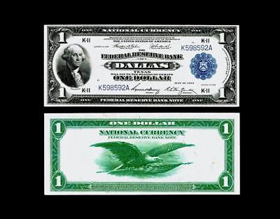 Fr. 740 $1 1918 Federal Reserve Bank Note~~ ALMOST UNCIRCULATED